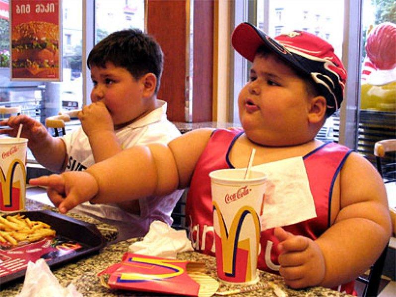 fat people eating mcdonalds. fat-kits-eating-mcdonalds